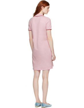 photo Pink Tiger Crest Polo Dress by Kenzo - Image 3