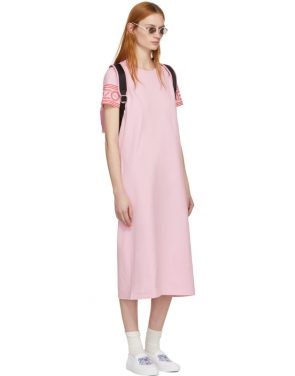 photo Pink Sport Midi T-Shirt Dress by Kenzo - Image 4