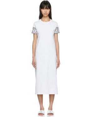 photo White Logo T-Shirt Dress by Kenzo - Image 1