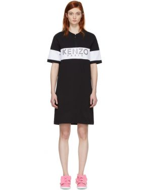 photo Black  Sport Zipped Dress by Kenzo - Image 1
