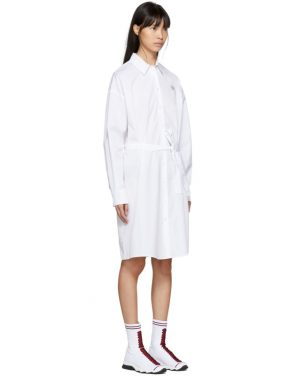 photo White Tiger Crest Shirt Dress by Kenzo - Image 2