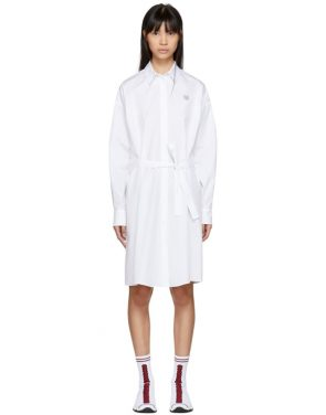 photo White Tiger Crest Shirt Dress by Kenzo - Image 1