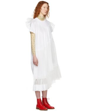 photo White Tulle T-Shirt Dress by Simone Rocha - Image 2