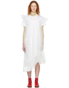 photo White Tulle T-Shirt Dress by Simone Rocha - Image 1