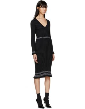 photo Black Isolde Dress by Altuzarra - Image 2