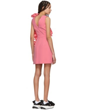 photo Pink Ruffles Dress by MSGM - Image 3