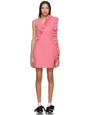 photo Pink Ruffles Dress by MSGM - Image 1