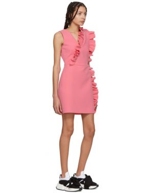 photo Pink Ruffles Dress by MSGM - Image 5