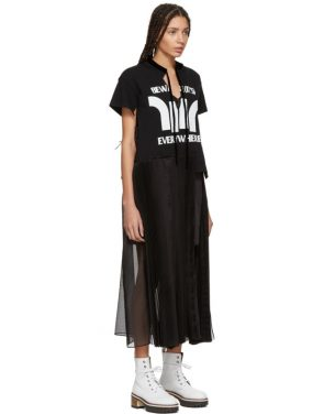 photo Black Beware Dress by Sacai - Image 2
