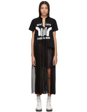 photo Black Beware Dress by Sacai - Image 1