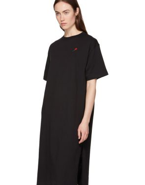 photo Black Rose T-Shirt Dress by 6397 - Image 4