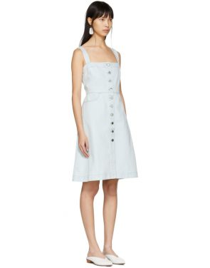 photo Blue Denim Dress by Stella McCartney - Image 2