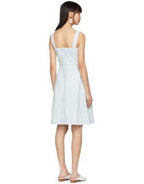 photo Blue Denim Dress by Stella McCartney - Image 3