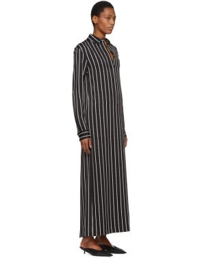 photo Black and White Stripe Morganite Dress by Haider Ackermann - Image 2