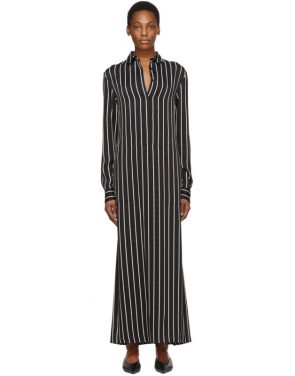photo Black and White Stripe Morganite Dress by Haider Ackermann - Image 1
