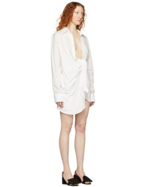 photo White La Tunique Bahia Dress by Jacquemus - Image 2