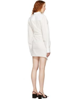 photo White La Tunique Bahia Dress by Jacquemus - Image 3