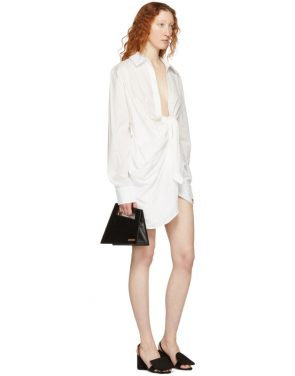 photo White La Tunique Bahia Dress by Jacquemus - Image 4