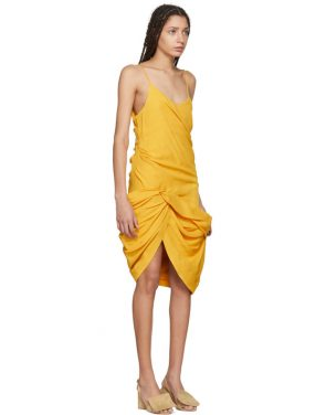 photo Yellow La Robe Coracao Dress by Jacquemus - Image 2