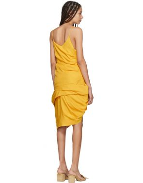 photo Yellow La Robe Coracao Dress by Jacquemus - Image 3