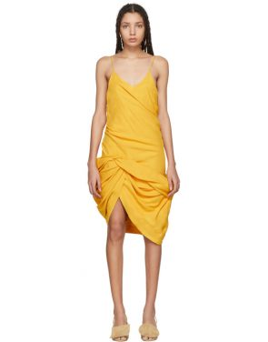 photo Yellow La Robe Coracao Dress by Jacquemus - Image 1