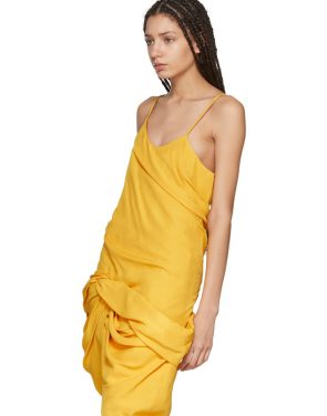 photo Yellow La Robe Coracao Dress by Jacquemus - Image 4