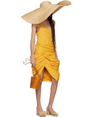 photo Yellow La Robe Coracao Dress by Jacquemus - Image 5