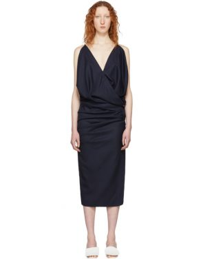 photo Navy La Robe Sao Dress by Jacquemus - Image 1