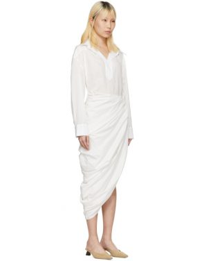 photo White La Robe Amadora Dress by Jacquemus - Image 2