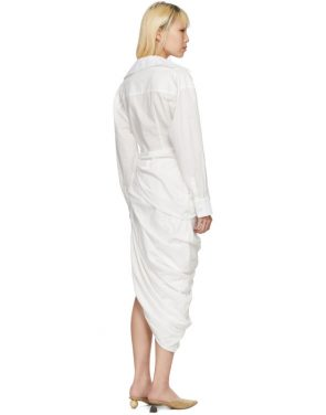 photo White La Robe Amadora Dress by Jacquemus - Image 3