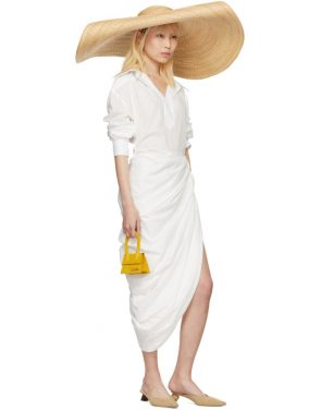 photo White La Robe Amadora Dress by Jacquemus - Image 5