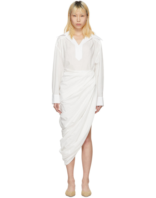 photo White La Robe Amadora Dress by Jacquemus - Image 1