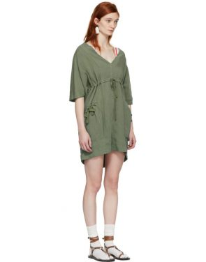 photo Khaki New Flou Wendell Dress by Isabel Marant Etoile - Image 2