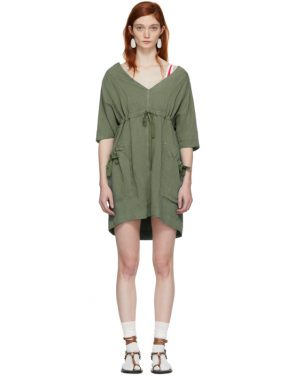photo Khaki New Flou Wendell Dress by Isabel Marant Etoile - Image 1