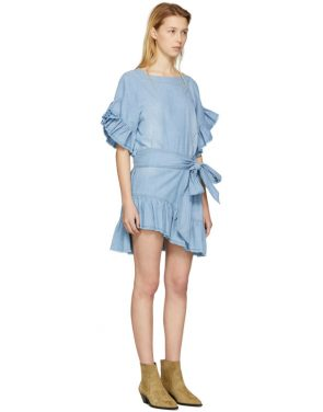 photo Blue Lelicia Dress by Isabel Marant Etoile - Image 2