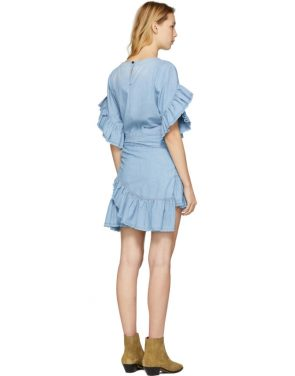 photo Blue Lelicia Dress by Isabel Marant Etoile - Image 3