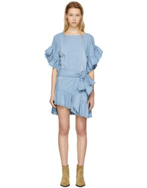 photo Blue Lelicia Dress by Isabel Marant Etoile - Image 1