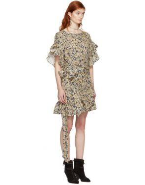 photo Beige Delicia Dress by Isabel Marant Etoile - Image 2