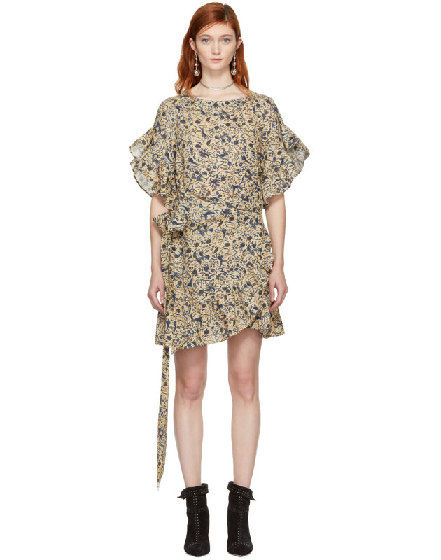 photo Beige Delicia Dress by Isabel Marant Etoile - Image 1
