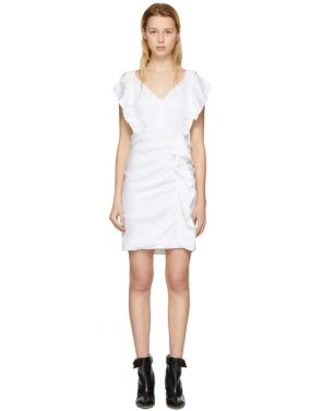 photo White Topaz Dress by Isabel Marant Etoile - Image 1