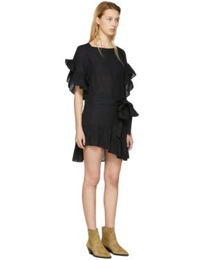 photo Black Delicia Dress by Isabel Marant Etoile - Image 2