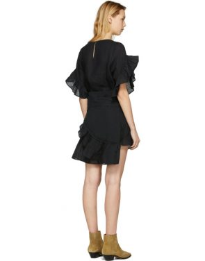 photo Black Delicia Dress by Isabel Marant Etoile - Image 3