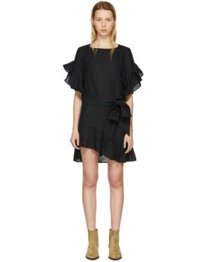 photo Black Delicia Dress by Isabel Marant Etoile - Image 1