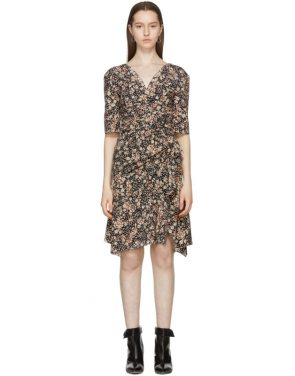 photo Black Silk Brodie Dress by Isabel Marant - Image 1