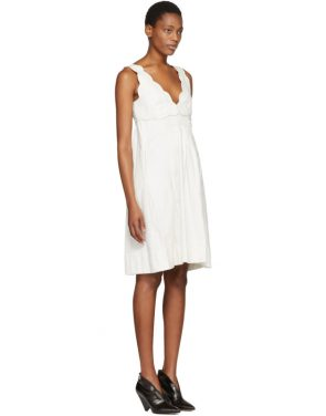photo Ecru Wilby Wavy Vintage Dress by Isabel Marant - Image 2