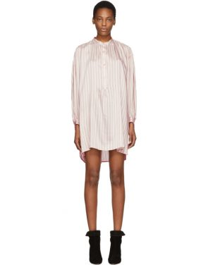 photo Pink Striped Idoa Dress by Isabel Marant - Image 1