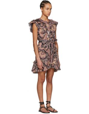 photo Multicolor Xanity Tahatai Light Dress by Isabel Marant - Image 2