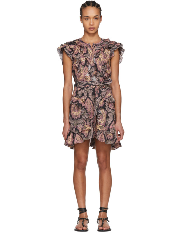 photo Multicolor Xanity Tahatai Light Dress by Isabel Marant - Image 1