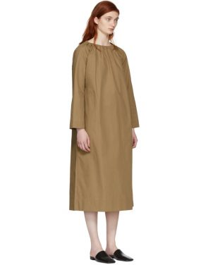 photo Tan Oversized Tunic Dress by Studio Nicholson - Image 2