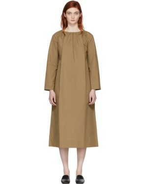 photo Tan Oversized Tunic Dress by Studio Nicholson - Image 1